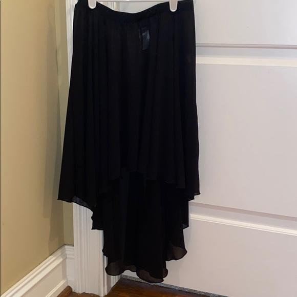 Balera low-high dance skirt